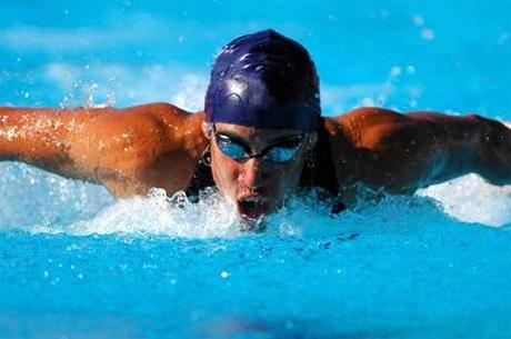 Die Blütenpollen zeigten bei den jungen Schwimmern eine deutliche Verbesserung