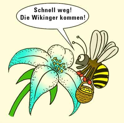 Biene paß auf!